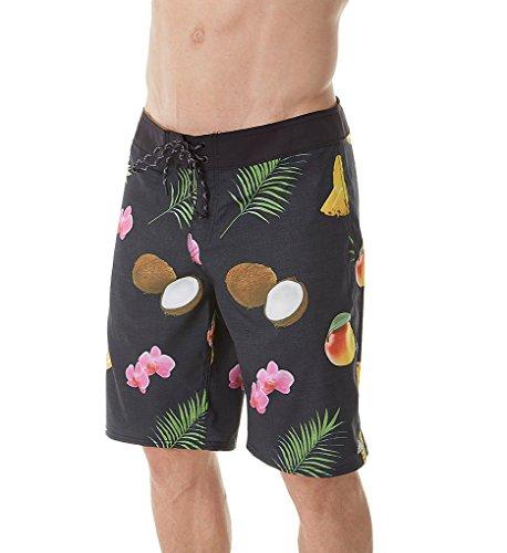 Reef_Apparel Herren Reef Tarpon Shorts, Schwarz (Black Bla), Small (Herstellergröße: 30)