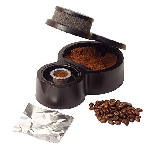 Klapcap - Neuheit! Mach deine kapseln. Bereit in 15 sekonden. Kompatibel mit Nespresso. Nachfüllbare und wiederverwendbare Kapseln.