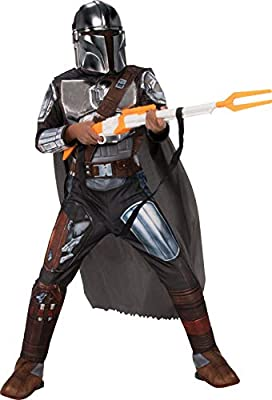 Rubie's Star Wars The Mandalorian Beskar Armor Children's Costume, Medium by Rubie's