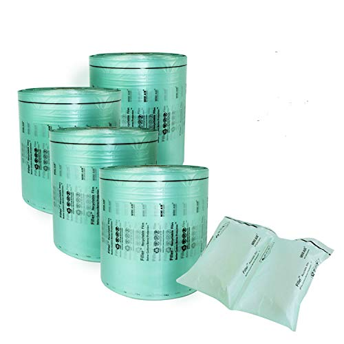 """Mini Air Easi Bubble cushion packing Film Roll 4x8"""" inch(W8'' x L918 ft)- 4 rolls ---FOR MINI AIR EASI MACHINE USE ONLY"""