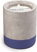 Paddywax Urban Collection Scented Soy Wax Candle, 3.5-Ounce, Driftwood & Indigo