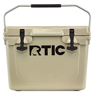 RTIC Cooler, 20 qt (Tan)