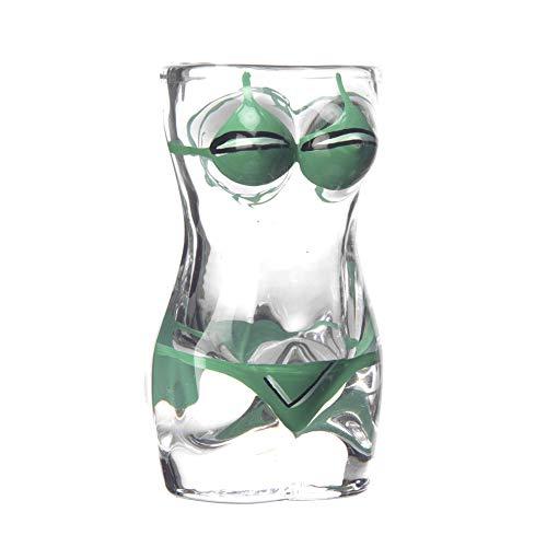 XZPZ 300ml Stein, Sexy Stein, Corpo Femminile, Corpo Maschile, Corpo da Sogno Partito curvilinea Femminile Bicchiere di Vino Busto/Corpo Paio Arte della Tazza/KDR,D