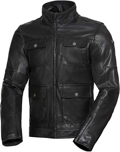 IXS Nick Classic - Chaqueta de piel para hombre, color negro