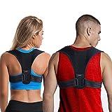 LifenC - Correttore posturale regolabile per schiena, adatto in caso di dolore alle spalle o alla...