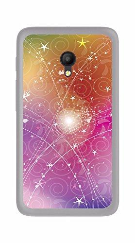 Tumundosmartphone Funda Gel TPU para Orange Rise 51 / ALCATEL PIXI 4 (5) 4G / VODAFONE Smart Turbo 7 diseño Abstracto Dibujos