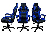Cadeira Gamer Extreme Youtuber Premium - Azul