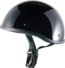 CRAZY AL'S WORLDS SMALLEST HELMET SOA INSPIRED IN GLOSS BLACK WITH OUT VISOR SIZE LARGE