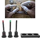 Oiler Oil Pin Pen, Lubricante Oiler Profesional Reloj Oiler Oil Pin Pen para reparación de Relojes para Profesionales...
