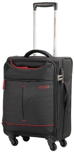[アメリカンツーリスター] スーツケース スカイ スピナー 55/20 TSA 機内持ち込み可 保証付 35L 55 cm 2.4kg ブラック/レッド