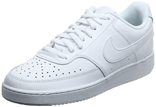 Nike Court Vision LO, Sneaker Hombre, White/White-White, 45 EU