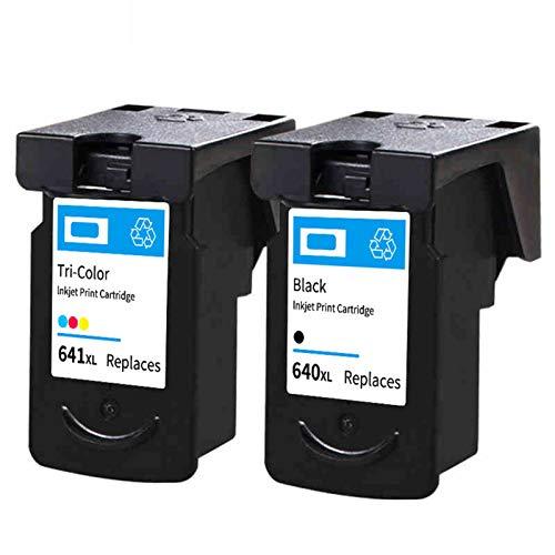Cartuchos de tinta, PG640 CL641 de alto rendimiento de repuesto para Canon MG2160 3160 MG4160 MX376 cartuchos de tinta negro y color negro y color