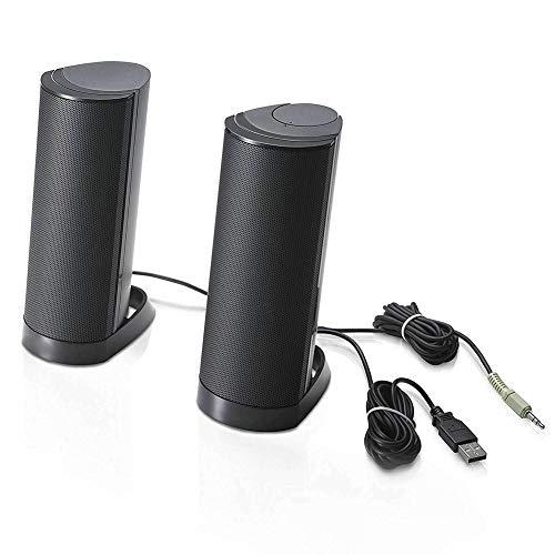 P12cheng luidspreker, bekabeld, thuisbioscoop, muziekspeler, USB 2.0, 3,5 mm, voor laptop PC - X210