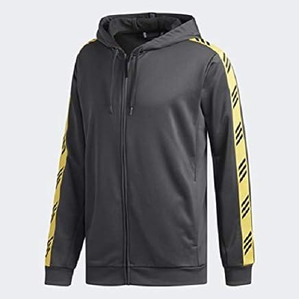 Adidas Men's 04153 Pro Madness Hoodie, Grey, Small