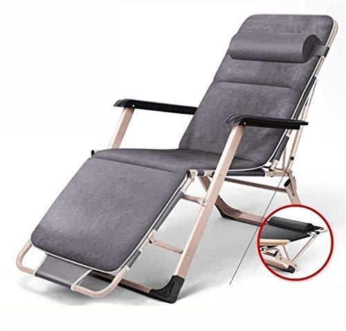 Reclinabile pieghevole, Chaise chaise longue regolabile, con poggiatesta bracciolo del braccio del calendario zero zero sedia reclinabile sedia reclinabile secchio letto posteriore giardino sedia giar