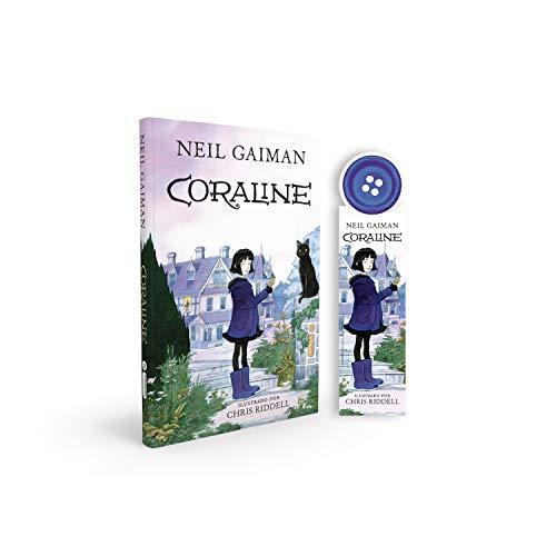 Coraline - Acompanha marcador de páginas especial