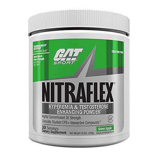 GAT Nitraflex Green Apple 30 Servings, 300 g