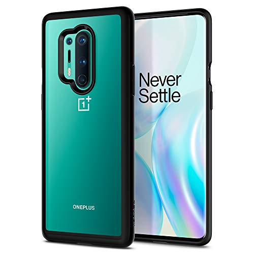 Spigen Ultra Hybrid Designed for OnePlus 8 Pro Case (2020) - Black