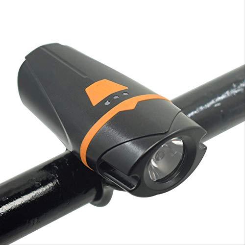 CAIJINJIN Bicicleta Luces recargables for bicicletas Frente y ruedas traseras Gato Ojo LED Luz de bicicleta Luz de Bicicleta Luz de Bicicleta Y Luz de Cola, Faro Luz Free Tail Light, LED Frente y Atrá