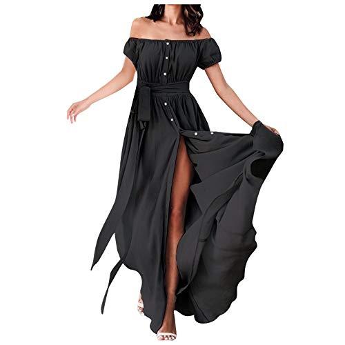 Vestido Playero Mujer Vestidos Mujer Casual Vestidos Largos Casual Tallas Grandes Playa Largos Floral Maxi Vestido Bohemio Tirantes Playa Verano