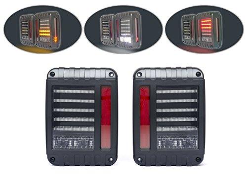 LED Integré Feux Stop Lumières avec Clignotants pour 4WD 4X4 Off Route Euro Style Voiture
