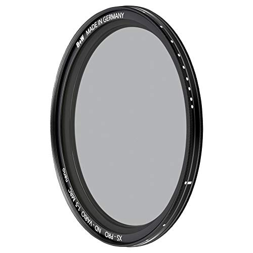 B+W Graufilter ND vario / variabel ND2-32 (67mm, MRC nano, XS-Pro, 16x vergütet, Premium)
