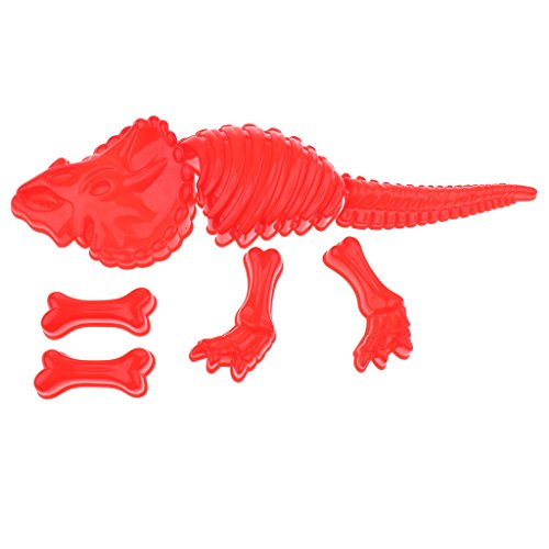 Kinder Sandspielzeug - Dinosaurier Sandformen Spielset - Spielzeug für Kinder ab 3 Jahre alt