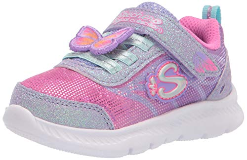Skechers Comfy Flex 2.0 Lil Flutters, Scarpe da Ginnastica Bambino, Lavender, 27 EU