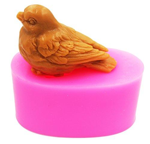 LC Bird N502 Seifenform Silikonform Bastelformen DIY Handgemachte Seife Kerzenformen