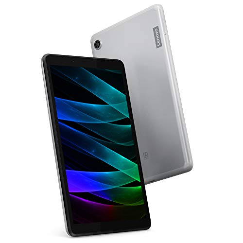 Lenovo Tab M7 7 Inch HD Tablet – (Quad Core 1.3 GHz, 1 GB RAM, 16 GB eMMC, Android Pie) – Platinum Grey