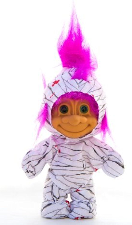 My Lucky Mummy Troll - Fushia Hair by Russ Berrie