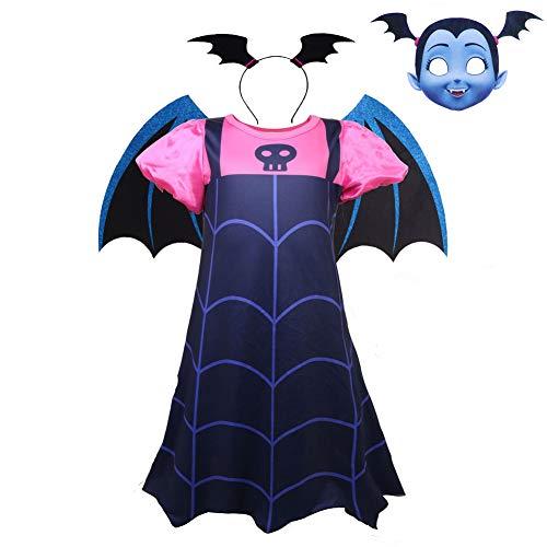 W De Los Bebés del Vestido del Traje De Halloween con Los