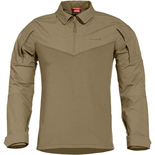 Pentagon Herren RangerShirt, Size-Large, Colour Freizeithemd, Braun (Coyote 03)