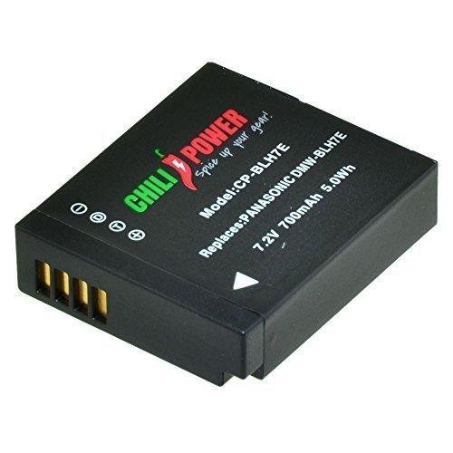 ChiliPower DMW-BLH7, DMW-BLH7E, DMW-BLH7PP - Batería para Panasonic Lumix DMC-GM1, DMC-GM5, DMC-GF7, DMC-LX10, DMC-LX15