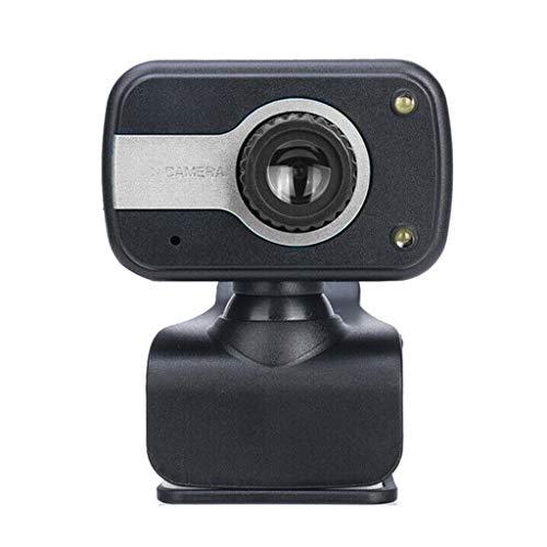Cámara de alta definición para el hogar giratoria de alta definición Webcam PC portátil computadora computadora de escritorio digital cámara USB para grabación de vídeo con micrófono