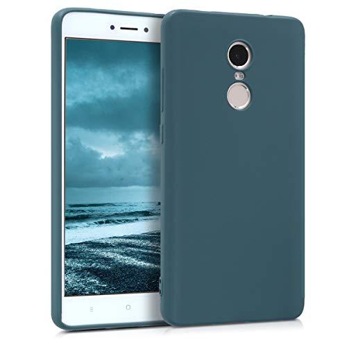 kwmobile Xiaomi Redmi Note 4 / Note 4X Hülle - Handyhülle für Xiaomi Redmi Note 4 / Note 4X - Handy Case in Petrol matt