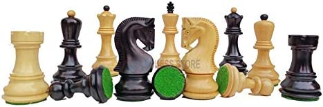 Russian Albuquerque Mall Zagreb Chess Pieces Set Excellent 3.8