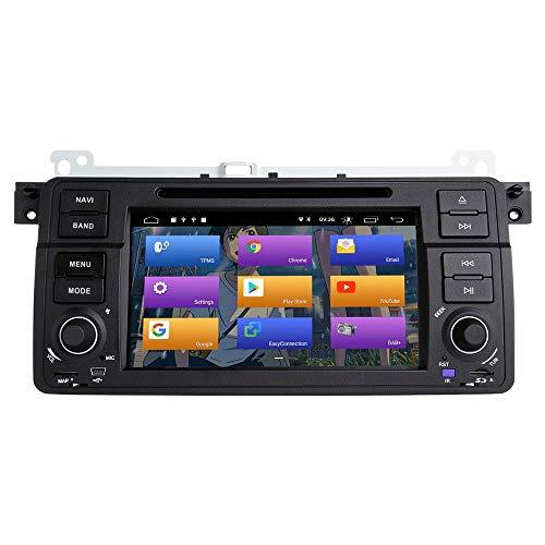 FDGBCF para BMW E46 Rover 75 MG ZT Android 10.0 Car Radio Stereo GPS 7'Car DVD Player Car Auto Play/TPMS/OBD/Dab/Mirror Link