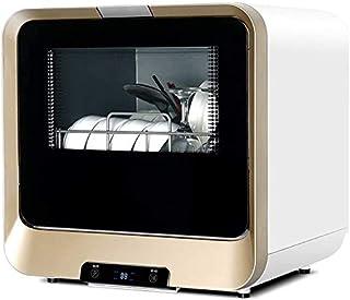 WYZXR Lavavajillas de vajilla de 220V, Lavado rápido, Secado, Ahorro de energía, Lavavajillas de pie para la Cocina del apartamento