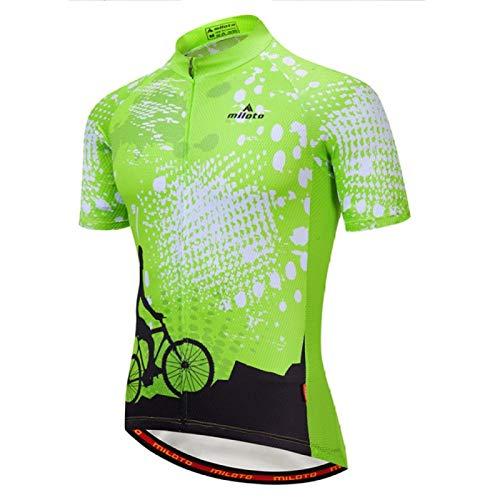 Maillot de ciclismo New Team Pro Ciclismo Jersey Ropa Ciclismo MTB Bicicletas Ciclismo Maillo (Color: 04 Jersey corto, Tamaño: XXXL)