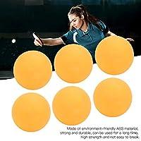 優れた職人技REGAIL卓球ボール安定した摩耗-屋内または屋外でのスポーツフィットネスのためのピンポントレーニングスポーツ(6 yellow plastic buckets)