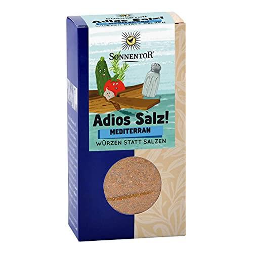 Sonnentor Adios Salz Mediterrane Gemüsemischung bio, 3er Pack (3 x 55 g)