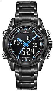 ساعة نافيفورس NF9050-BBBE للرجال انالوج-رقمية ال اي دي