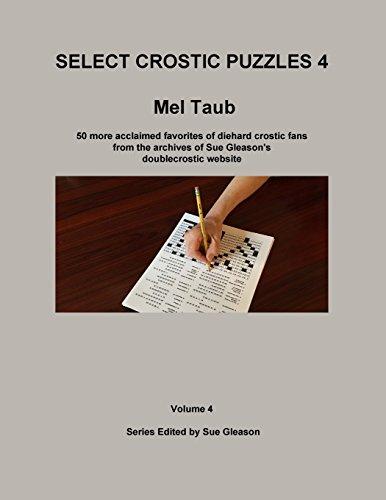 Select Crostic Puzzles 4: Volume 4