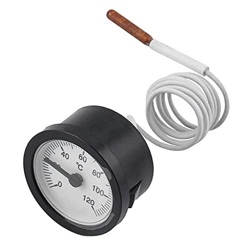 Termómetro capilar con sensor para medir la temperatura de gas líquido y vapor 0-120 °C