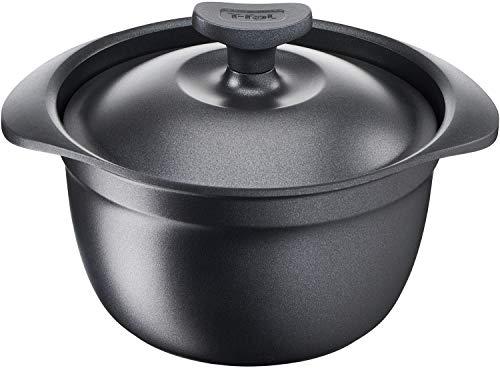 ティファール(T-fal) ご飯鍋 ブラック 3合炊き キャストライン アロマ ライスポット E22195