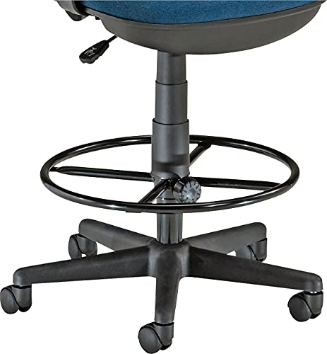 OFM DK Stool Drafting Kit, 19' Diameter Foot Ring with 9' and 12' Extenders, Black
