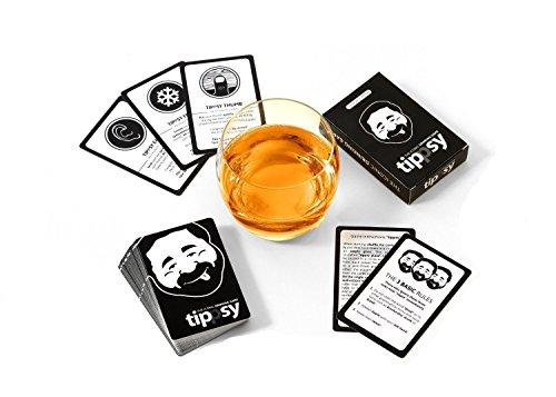 DENKRIESEN tippsy - The Iconic Drinking Game - Trinkspiel auf englisch - *Waterproof* *Party Game*