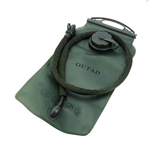 BlackUdragon Wasserblase, 3 l, PEVA, mit isoliertem Mundschlauchventil, für Camping, Wandern, Klettern, Outdoor, Radfahren