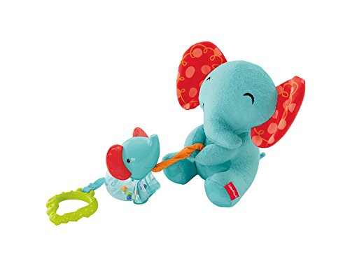 Fisher-Price Peluches Maman et Bébé Éléphant